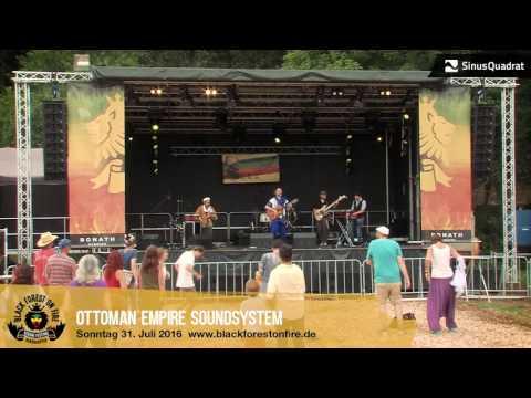 Ottoman Empire Soundsystem beim Black Forest on Fire Reggae Festival 2016 in Berghaupten