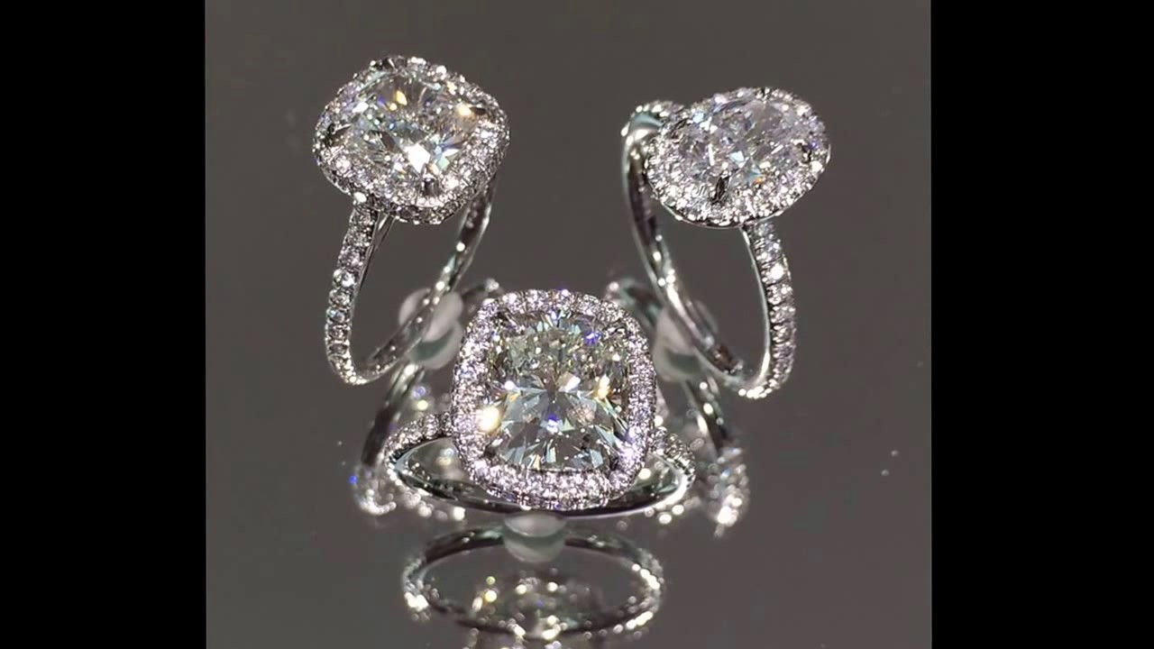 Popular Classic Halo Engagement Rings From Lauren B