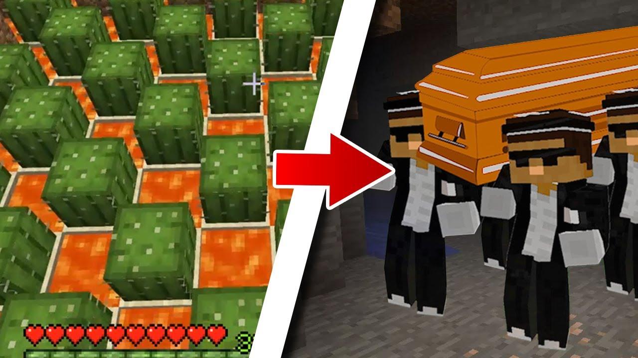 Coffin dance meme in Minecraft (part 3) Scooby's gameplay ...