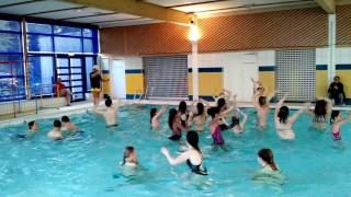La piscine d'Auxerre transformée en piste de danse