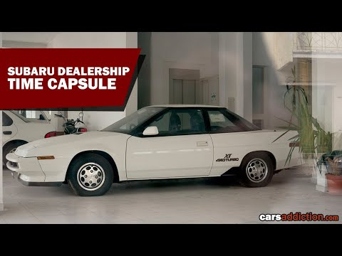 Subaru Time Capsule Dealership