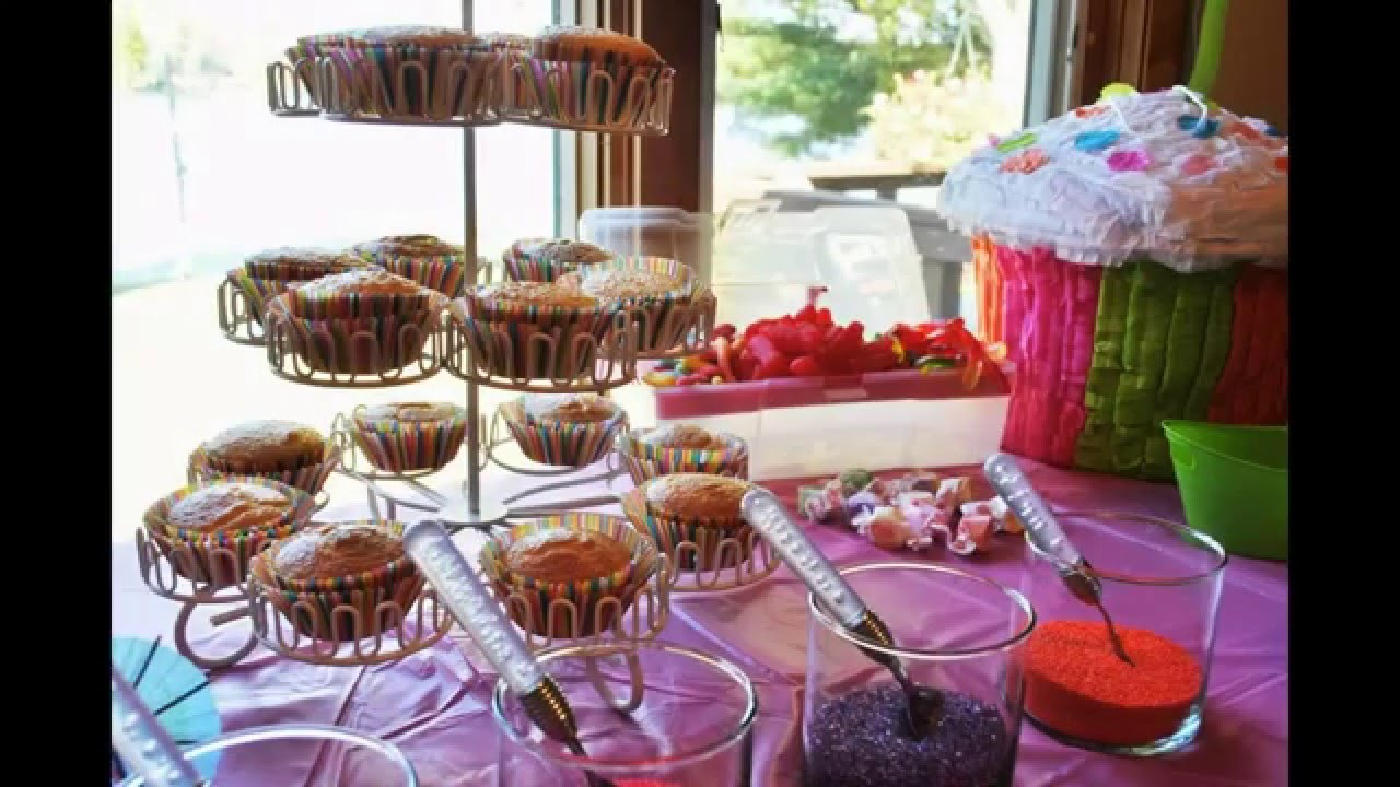 ideas for cupcake decorating party - Cupcake Decorating Party