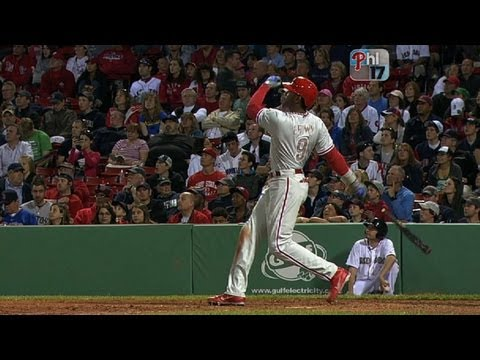 Brown crushes four homers in three games vs. Red Sox