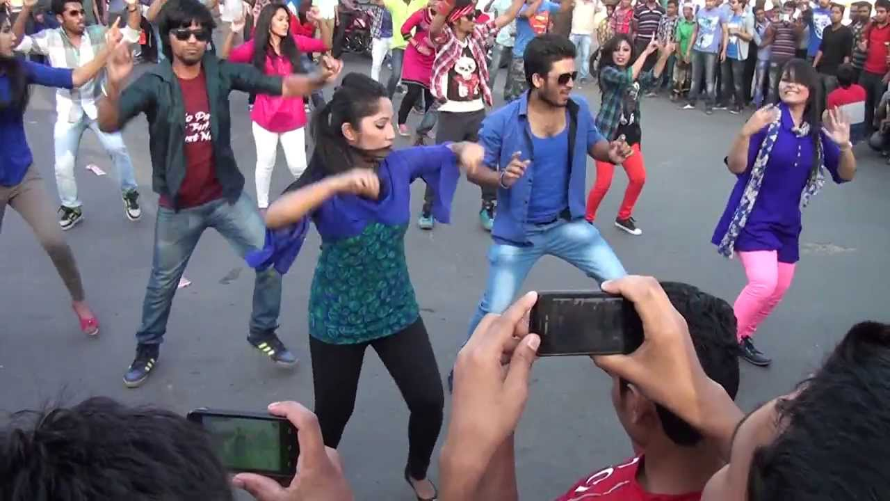 ICC World Twenty20 Bangladesh 2014, Flash Mob-IBAIS University (Dept. of Business Administration)