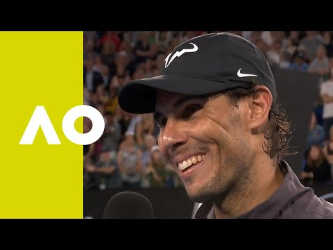 Rafael Nadal on-court interview (3R) | Australian Open 2019 Mp3