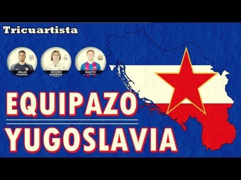 El equipazo que tendría YUGOSLAVIA es de locos. Conoce cual sería su ONCE TOP