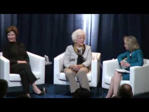 A Conversation with First Ladies Barbara & Laura Bush