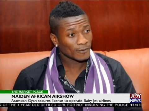 Maiden African Airshow - The Market Place on Joy News (25-10