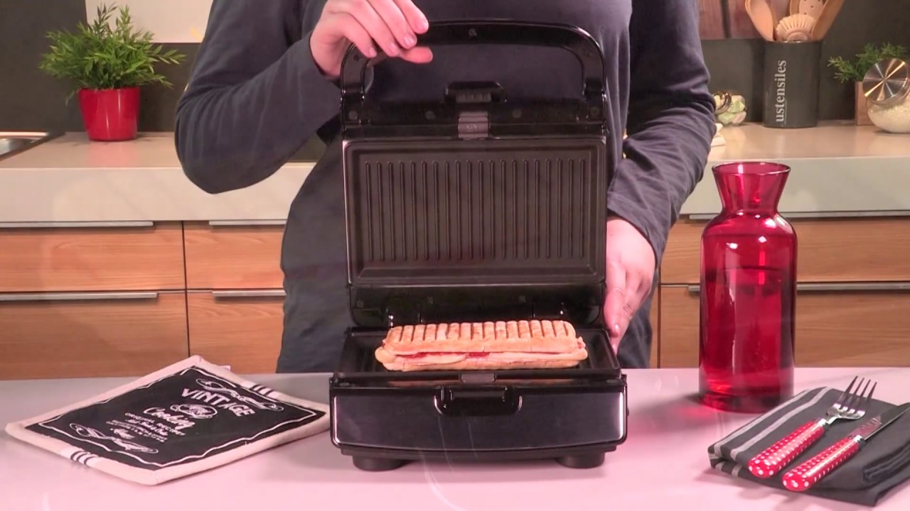 Seriøst Tefal: Snack Collection - Panini #3 - YouTube QS41