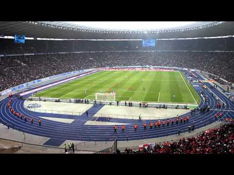 Dem Morgengrauen entgegen... 1. FC Union Berlin bei Hertha BSC 05.02.11