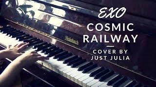 Video EXO - Cosmic Railway (piano cover & sheet music by Just Julia) download MP3, 3GP, MP4, WEBM, AVI, FLV Juli 2018