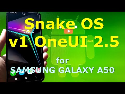 Snake OS v1 OneUI 2.5 Android 10 for Samsung Galaxy A50