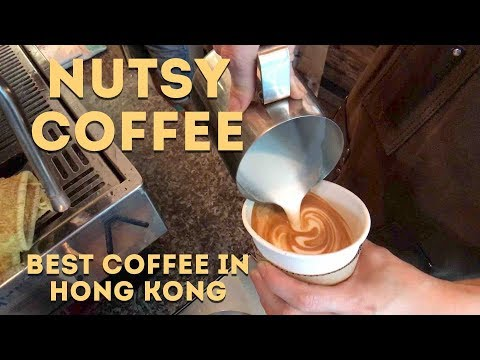 Nutsy Coffee - The Best Coffee Shop in Hong Kong