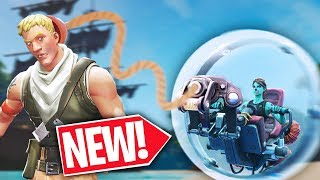 *NEW* HAMSTER BALLER is a DEFAULT DESTROYER  -  Fortnite Battle Royale