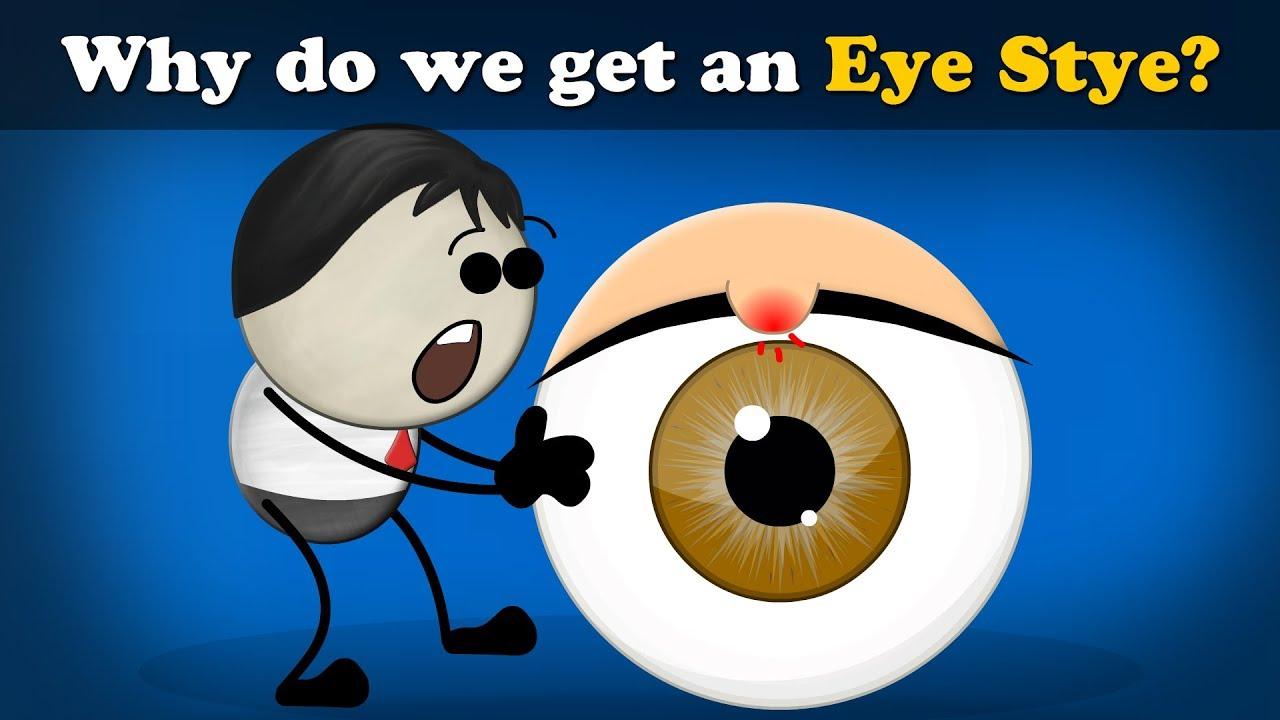 Why do we get an Eye Stye? | #aumsum #kids #science - YouTube