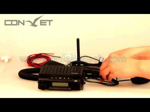 3G GSM WCDMA CB radio with nationwide coverage from contalke