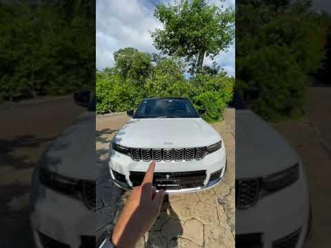 Nueva Jeep Grand Cherokee L 2021: próximamente