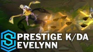 Prestige K/DA Evelynn Skin Spotlight - Pre-Release - League of Legends