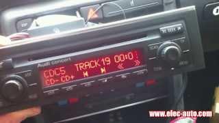 Lire des MP3 sur clé USB ou carte SD avec l'autoradio d'origine - Audi Concert 2