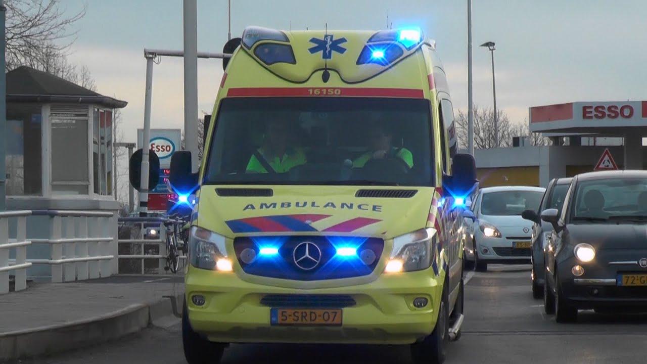 Afbeeldingsresultaat voor ambulance gouda
