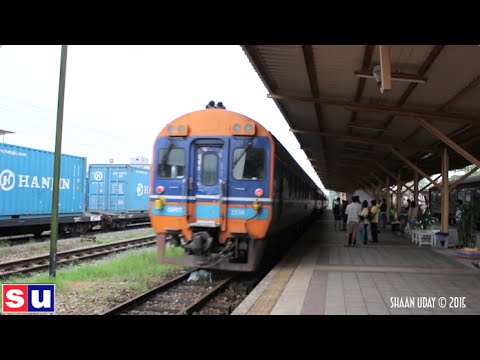THAILAND #27 | Surat Thaani (8/8) | Surat Thaani to Hat Yai by Train