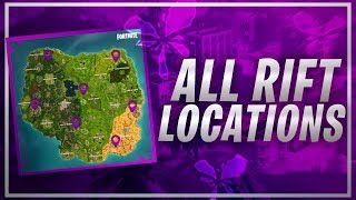 All Fortnite Season 5 Rift Locations (Where To Find All The Fortnite Rifts Spawn Locations)