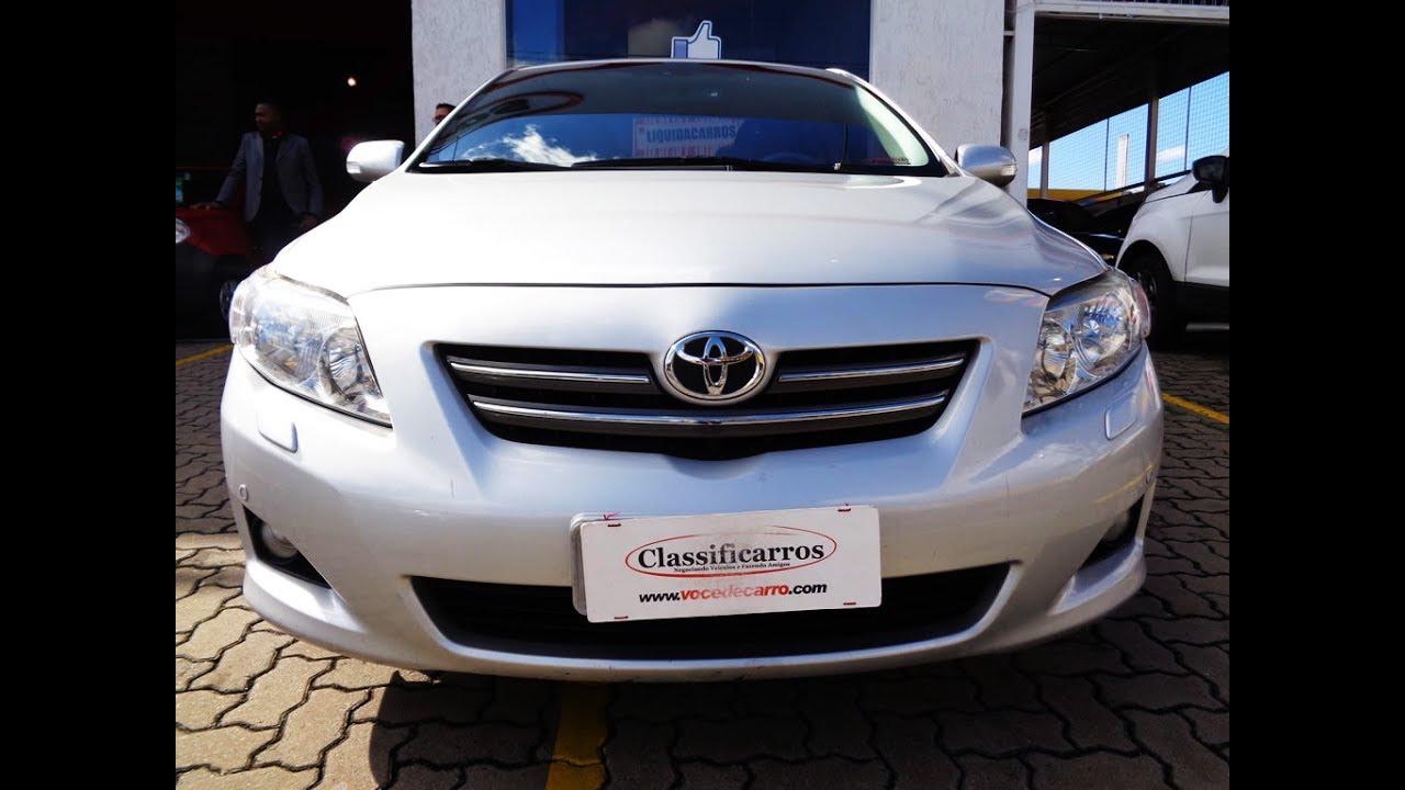 Toyota corolla seg 1 8 16v autom tico flex 2010
