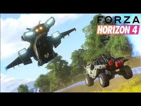 FORZA HORIZON 4 - KOSMICZNY RAJD SPECJALNY! HALO MASTER CHIEF! thumbnail