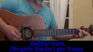 Baixar Bubble Gum (Brigitte Bardot Serge Gainsbourg) reprise guitare voix 1968