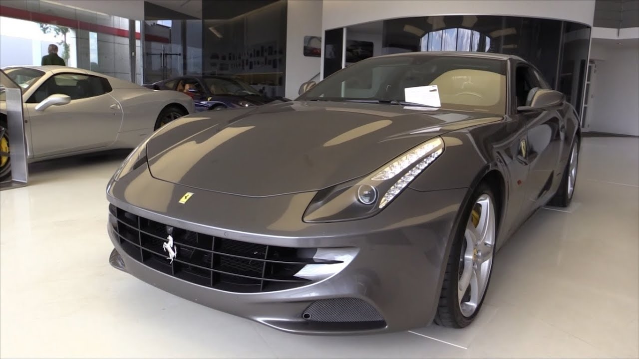 Ferrari FF 2015 In Depth Review Interior Exterior   YouTube
