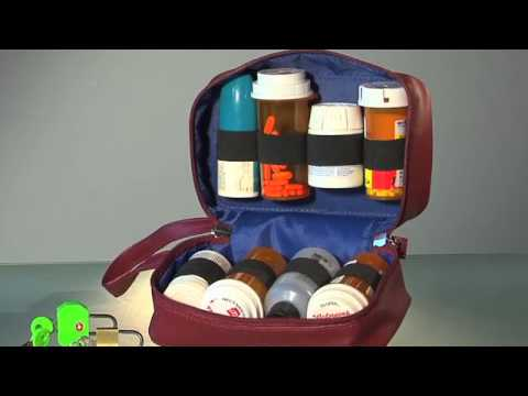 Safetote Rx Medication Storage Travel Bag Youtube