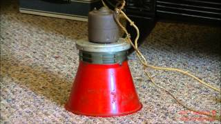 My 24 Volt DC Federal Electric Type A (Model A) Siren Alert Test + Blocked intake