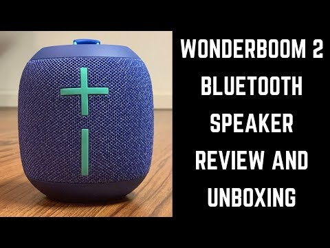 Ultimate Ears Wonderboom 2 Bluetooth Speaker Review and Unboxing