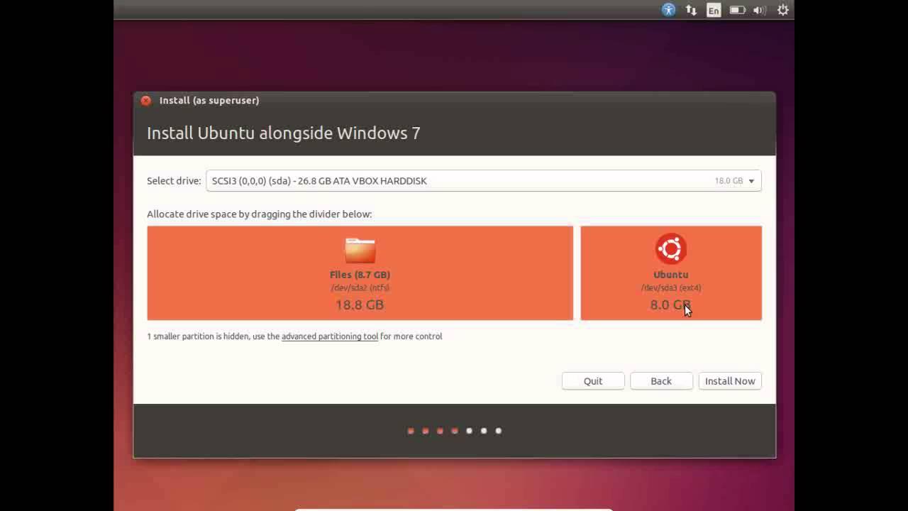 Install Ubuntu 14.10 Alongside Windows Bengali Video - Linux ...