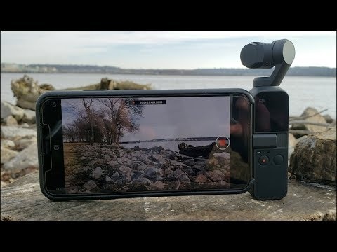 DJI Osmo Pocket Lo Bueno Y Lo Malo -Comparativa IPhone XS Max
