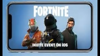 FORTNITE MOBILE!   FORTNITE MOBILE IS LIVE!   FREE HYPE CHAT ( ROAD TO 500 SUBS)