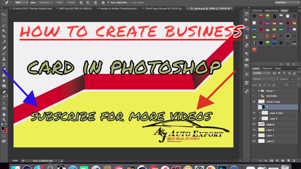 How to create a business card in photoshop choice image business beautiful how to make business cards in photoshop ensign business how to create business cards photoshop colourmoves