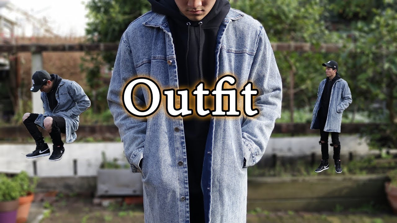 50% alennus laadukas suunnittelu tyylikkäät kengät Streetwear Outfit of the Day   Air Jordan 1, Champion Hoodie, Denim Jacket  [OOTD #107]