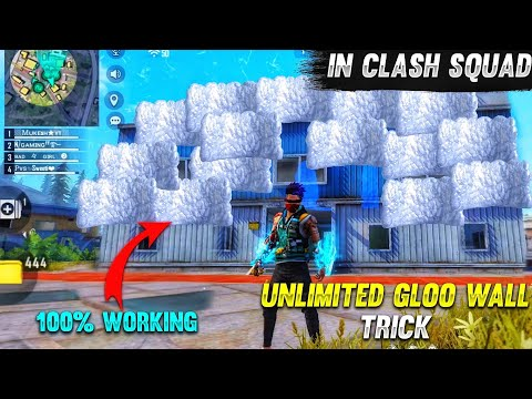 Download Top 5 New Unknown Tricks in free fire    Unlimited Gloo Wall Trick in clash squad in free fire