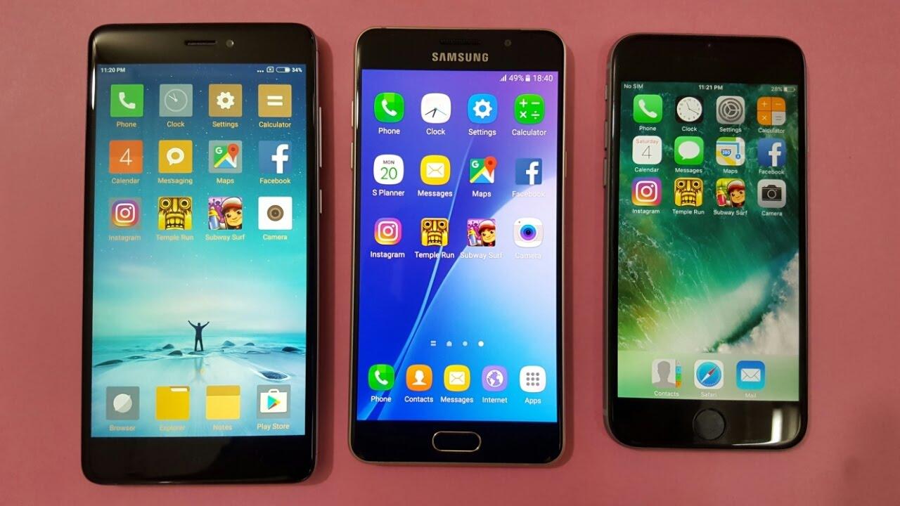 IPHONE 4 VS SAMSUNG A5