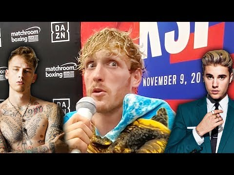 Logan Paul On Boxing Saving Him & If Justin Bieber Will Perform At KSI Rematch