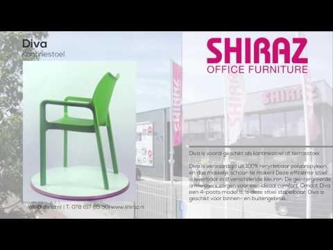 365º view | Kantinestoel Diva | Shiraz Office Furniture