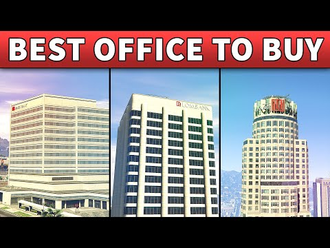 GTA 5 Best Office To Buy | GTA ONLINE BEST OFFICE LOCATION TO OWN (CEO Relocation Guide)
