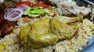Food of Arabia in Karachi | Mutton Mandi | Madfoon , Madbee & Kunafa | Pakistan  Food Street