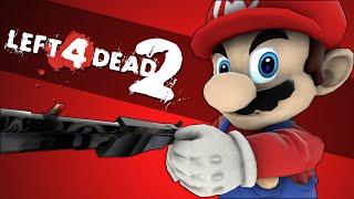 SUPER MARIO EDITION - Left 4 Dead 2  Funny Moments