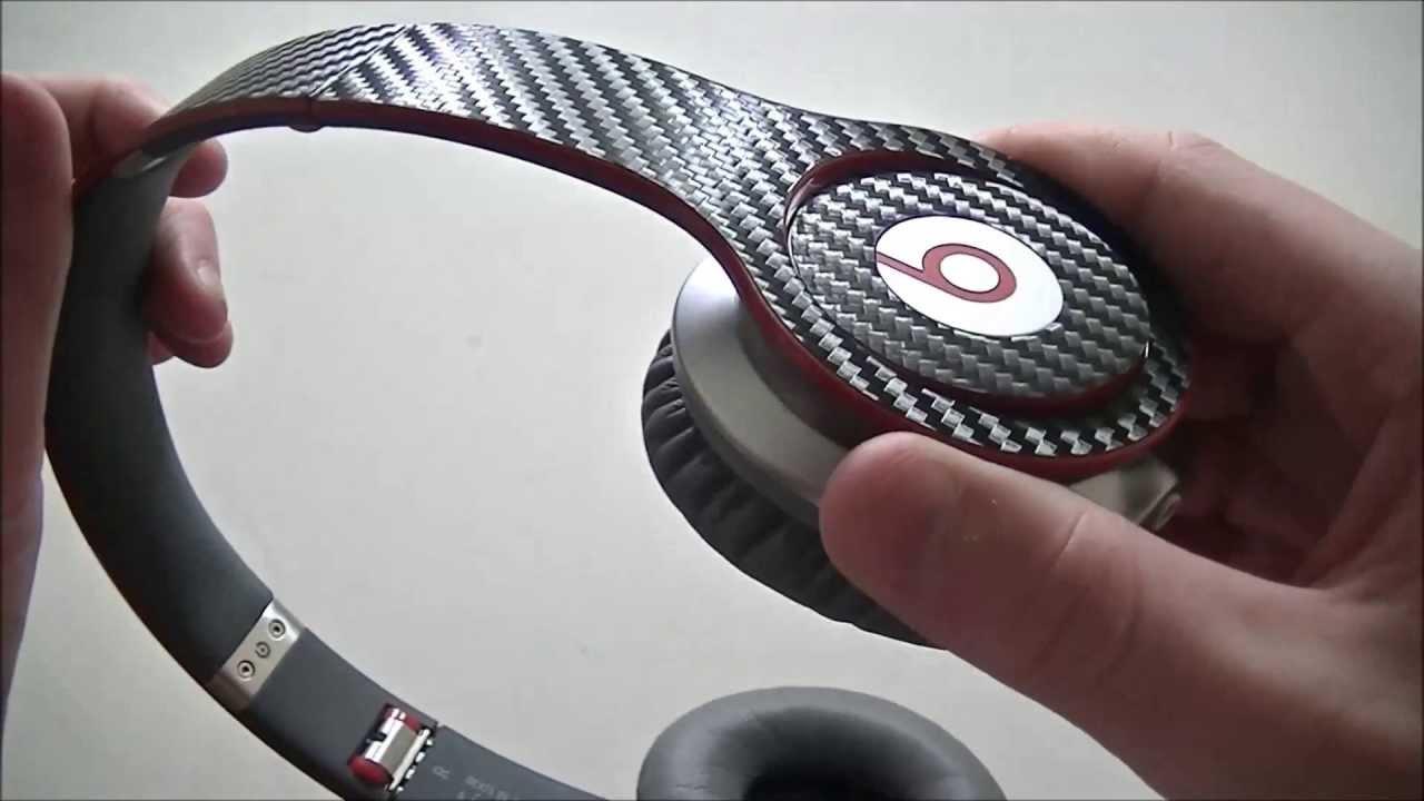 Beats By Dr.Dre Solo HD Carbon Fiber Skin - YouTube 11af28fe1