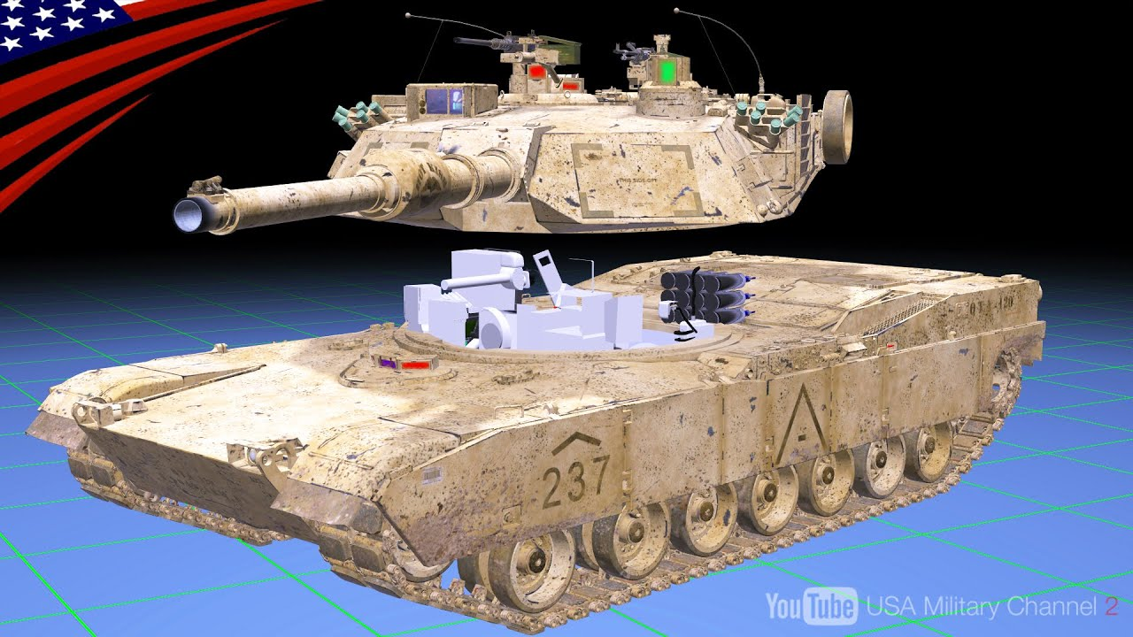 【戦車の内部はどうなっている?】3DCGと実写映像で装備・機能・乗員の位置を解説 - M1A2エイブラムス