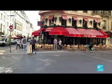 Déconfinement en France : les bars et restaurants ouvrent à nouveau