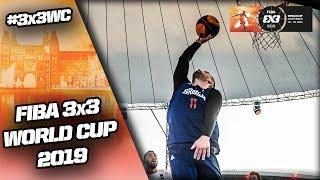 France v Serbia | Men's Full Quarter-Final | FIBA 3x3 World Cup 2019