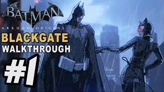 Batman Arkham Origins: Blackgate - Walkthrough Part 1 Intro & Gotham City